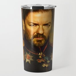 Ricky Gervais - replaceface Travel Mug