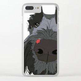 Ladybug Scottie Clear iPhone Case