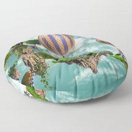 Balloon House Floor Pillow