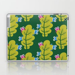 Bugs Eat Green Leaf Laptop & iPad Skin