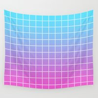 gradient Wall Tapestries featuring Gradient by aesthetically