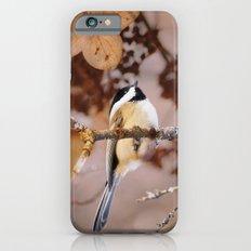 Birds :: Winter Chickadee Slim Case iPhone 6s