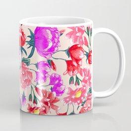 Floral - Pink & Red Coffee Mug