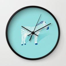 Animal Kingdom: Zebra II Wall Clock