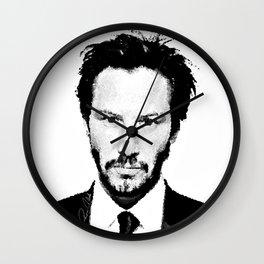 Keanu I Wall Clock