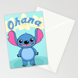 Cute Alien Stationery Cards