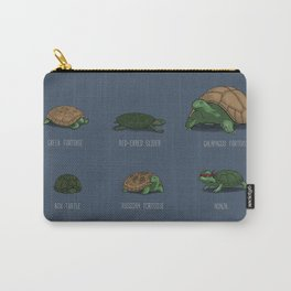 Know Your Turtles Carry-All Pouch
