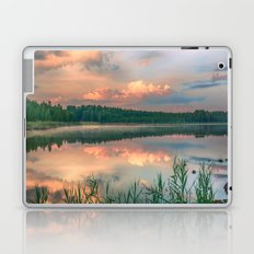 Misty Sunrise Laptop & iPad Skin