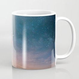 Child and UFO Coffee Mug