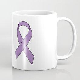 Purple Ribbon Coffee Mug