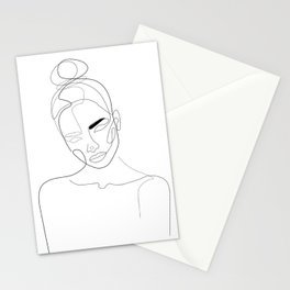 Lined Look Stationery Cards