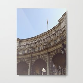 The Admiralty Arch, London Metal Print