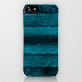 Vintage Blau iPhone Case