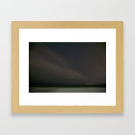 Slipped Framed Art Print