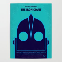 No406 My The Iron Giant mmp Poster