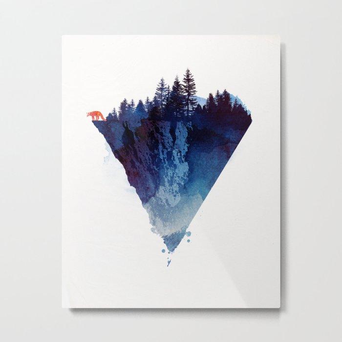 Near to the edge Metal Print