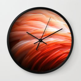 Flamin' Flamingo Wall Clock