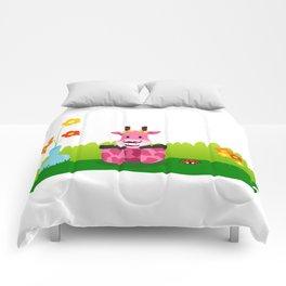 La jirafa Margarita Comforters