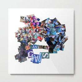 Organized Chaos (Pillow Talk) Metal Print