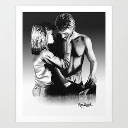 Sarah and Kyle Art Print