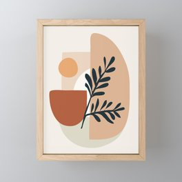Geometric Shapes Framed Mini Art Print
