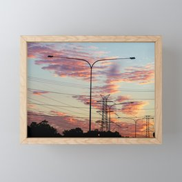 The Power Of Light Framed Mini Art Print