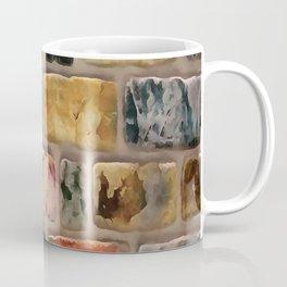 Multi-Colored Brick Wall Decorative Pattern Coffee Mug
