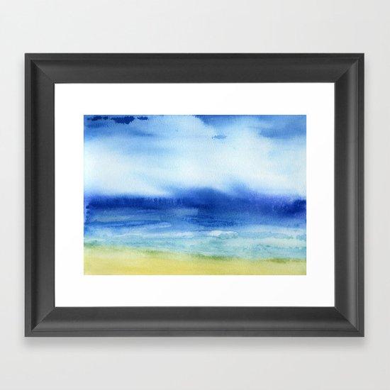 The Sea Is My Church Framed Art Print