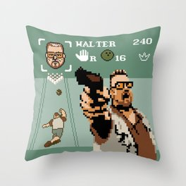 The Big Lebowski - Mark it Zero Throw Pillow