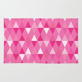 Harlequin Print Pinks Rug