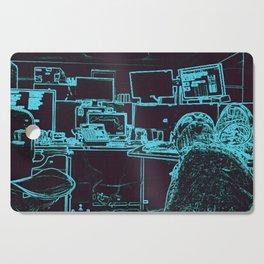 9-1-1 blue Cutting Board
