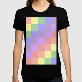 Faded Rainbow Quilt T-shirt