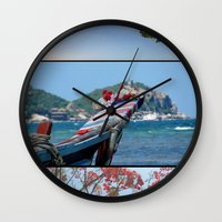 thailand Wall Clocks featuring Rak Thailand by wetravelasequals