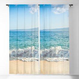 Oneloa Big Beach Makena Maui Hawaii Blackout Curtain