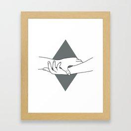 HEAL ME Framed Art Print