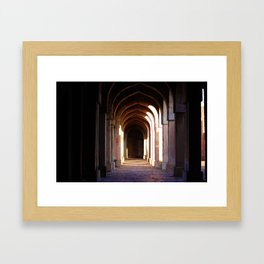 Hall in an old Palace Framed Art Print