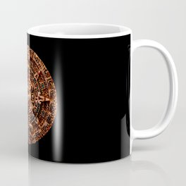 Ancient Mayan Sun Calendar Coffee Mug