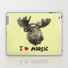 I love Moosic! // moose Laptop & iPad Skin