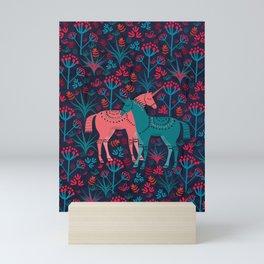 Unicorn Land Mini Art Print