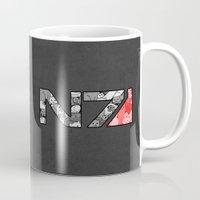 """n7 Mugs featuring """"My Favorite Things"""" N7 by Helenasia"""