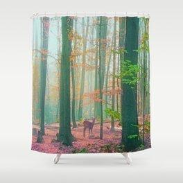 Little Deer  Shower Curtain