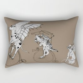 Steam Punk Pets Rectangular Pillow