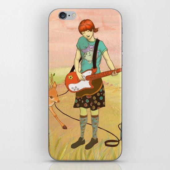 Guitar Fawn iPhone & iPod Skin
