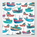 Fishing Boats by elenaoneill