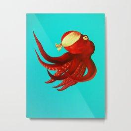 Octopus Ninja #2 Metal Print