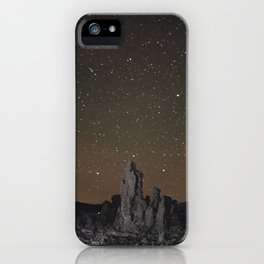 Kell watch the stars iPhone Case
