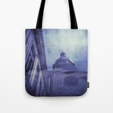 Holga Double Exposure: Eglise Saint-Paul-Saint-Louis, Paris  Tote Bag