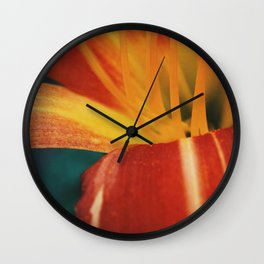 The Lily and The Ant Wall Clock