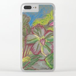 Hellebore Clear iPhone Case