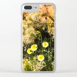 Super Bloom Cactus 7310 Clear iPhone Case